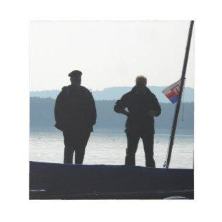 Little break for the ferrymen notepad
