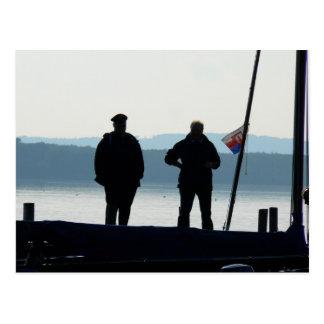 Little break for the ferrymen postcard