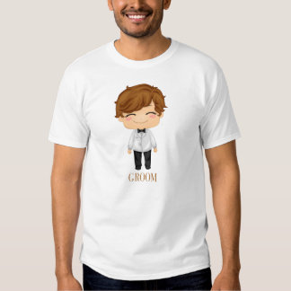 Little Bride and Groom T-shirt