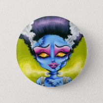 Little Bride of Frankenstein Pinback Button