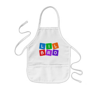 Little Bro apron – choose style & color