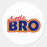 Little Bro Classic Round Sticker