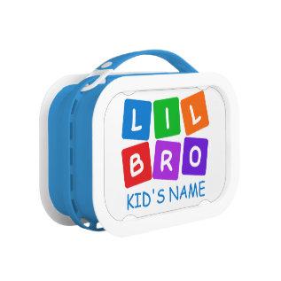 Little Bro custom lunch box at Zazzle