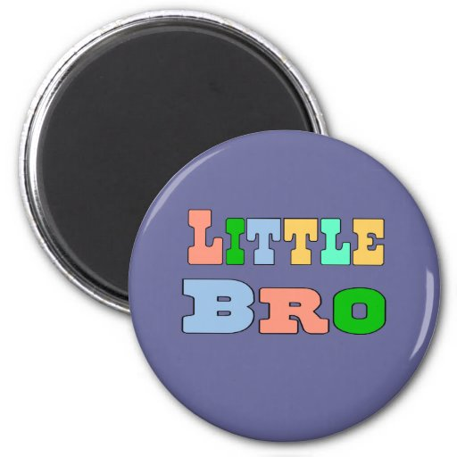 Little Brother 2 Inch Round Magnet