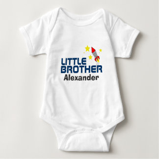 little brother BABY SHOWER matching gift set T Shirt