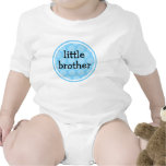 Little Brother Blue Polka Dot Circle T Shirts