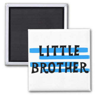 Little Brother Blue Stripes Tshirts and Gifts Refrigerator Magnet