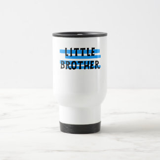 Little Brother Blue Stripes Tshirts and Gifts 15 Oz Stainless Steel Travel Mug