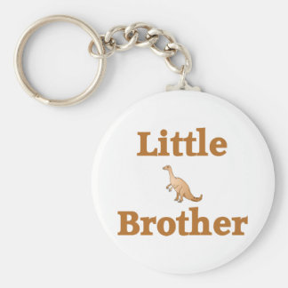 Little Brother Brown Dinosaur Key Chain