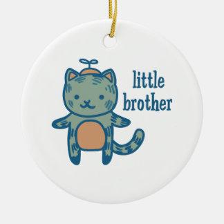 Little Brother Ceramic Ornament