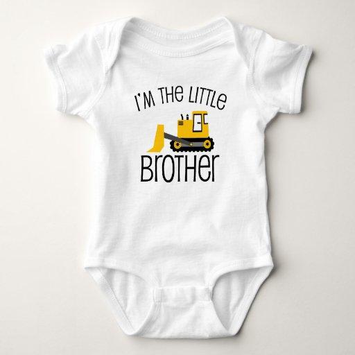 Little Brother Construction Front Loader Shirt