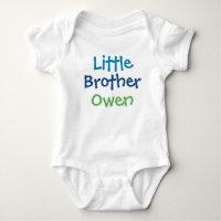 Little Brother Custom Name | Tee Shirt Design