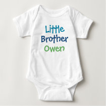 Little Brother Custom Name | Tee Shirt Design