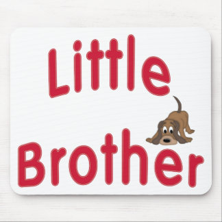 Little Brother Cute Hound Mouse Pad