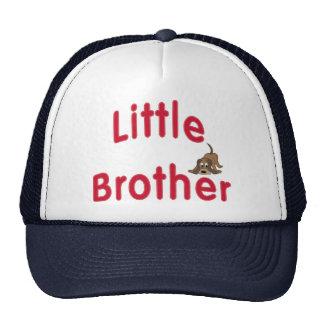 Little Brother Cute Hound Trucker Hat