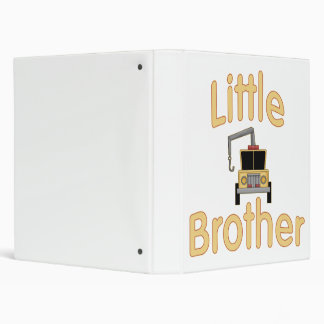 Little Brother Cute Tow Truck 3 Ring Binder