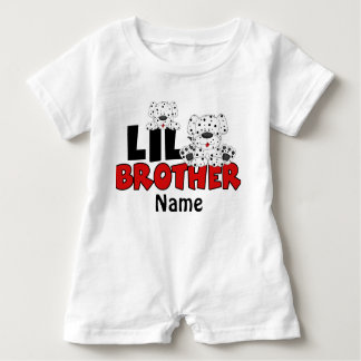 Little Brother Dalmatian Personalized Shirt