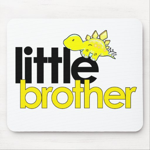 little brother dinosaur new mouse pad