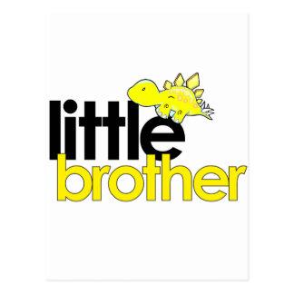 little brother dinosaur new postcard