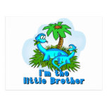 Little Brother Dinosaurs Postcard