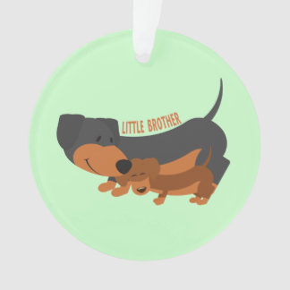 Little Brother (dogs) Ornament