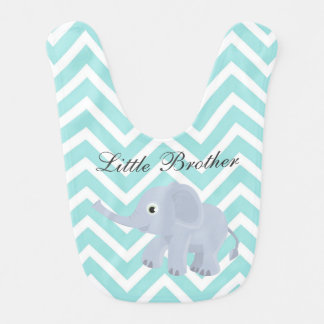 Little Brother Elephant Bib