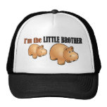 Little brother (hippo) mesh hat