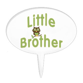 Little Brother Hoot Owl Cake Topper