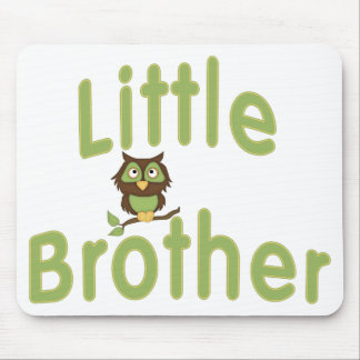 Little Brother Hoot Owl Mouse Pad