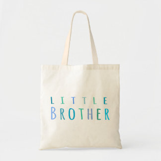 Little Brother in blue Canvas Bag
