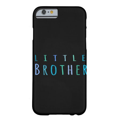 Little Brother in blue iPhone 6 Case