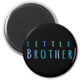 Little Brother in blue Fridge Magnet