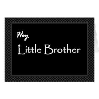 Little Brother Junior Groomsman Invitation