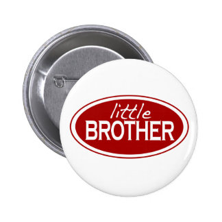 Little Brother (oval) Pinback Buttons