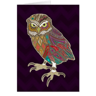 little brother owl card