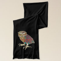 little brother owl scarf