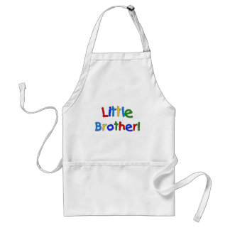 Little Brother Primary Colors Tshirts and Gifts Adult Apron