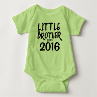 Little Brother Since - Personalize it! Baby Bodysuit
