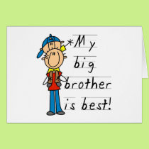 Little Brother T-shirts and Gifts Card