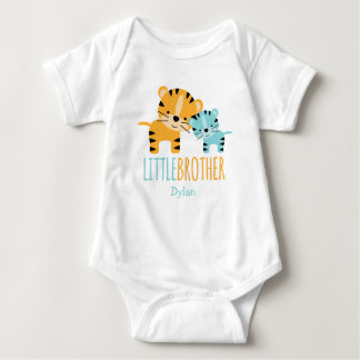 Little Brother Tiger Tee Shirt