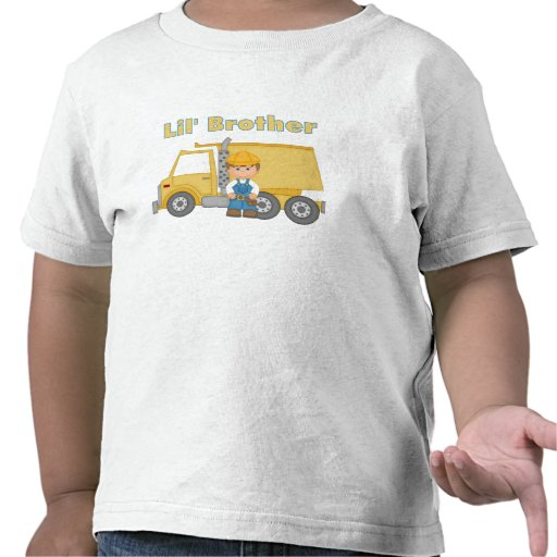 Little Brother Truck Driver Tshirts