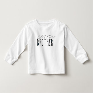 Little Brother Typography Toddler T-shirt