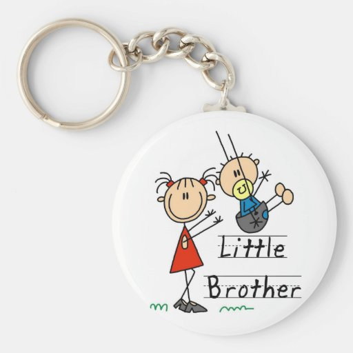 Little Brother with Big Sister Tshirts Keychains