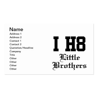 little brothers business card templates