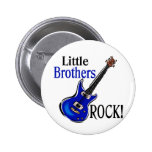 Little Brothers Rock! Button