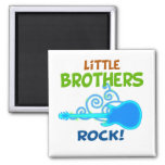 Little Brothers Rock Magnets