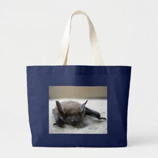 Little brown bat (Myotis lucifugus) Large Tote Bag
