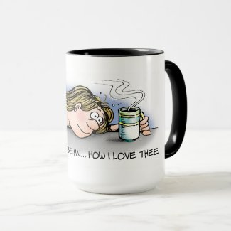 Little Brown Bean Coffee Mug