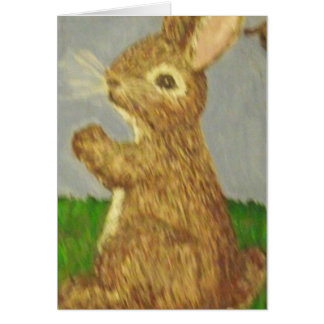 Little Brown Bunny Card
