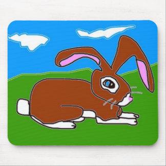 Little Brown Bunny Mousepad
